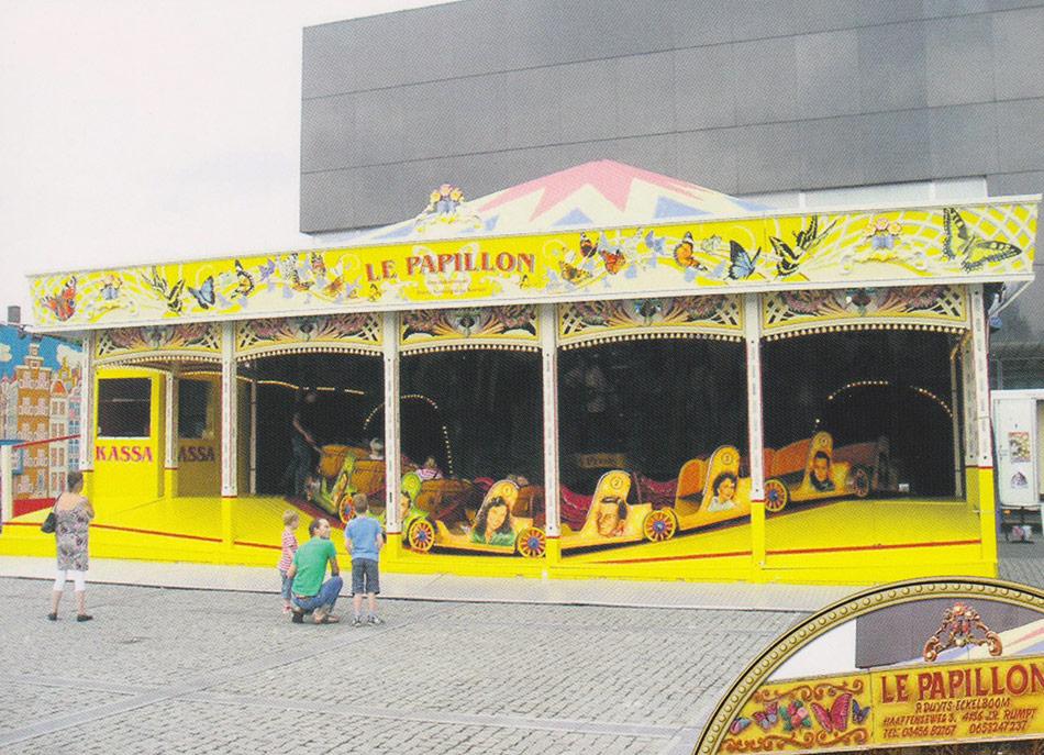 Rupsbaan Le Papillon